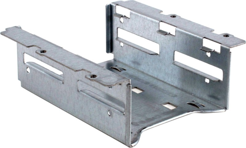 Держатель для жесткого диска Supermicro Adaptor MCP-220-00044-0N Retention Bracket for up to 2x 2.5""