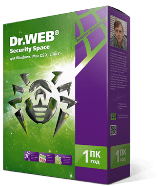 Dr.WEB Security Space 1 ПК / 1 год