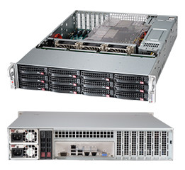 Cерверный корпус Supermicro SuperChassis 2U 826BE1C-R920LPB/ noHDD(12)LFF/ noHDD(2)SFF
