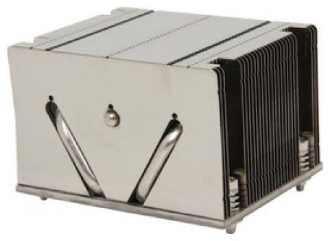 Радиатор охлаждения процессора Supermicro Heatsink 2U+ SNK-P0048PS Passive for X9, X10 UP, DP, MP LG